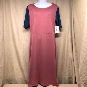 FINAL SALE!! LuLaRoe Julia Dress Raglan